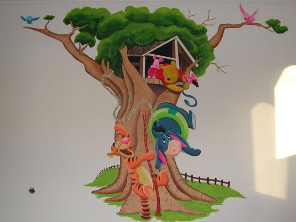 Metro a parete per bambini - Albero su parete ...